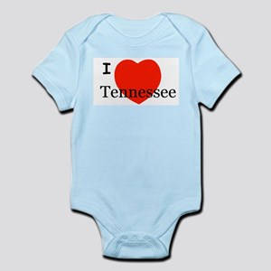 I Love Tennessee Infant Creeper