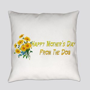 Dog Wishes For Mom Everyday Pillow