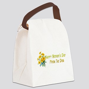 Dog Wishes For Mom Canvas Lunch Bag