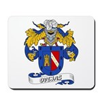 Ovejas Family Crest Mousepad