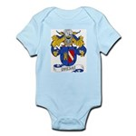 Ovejas Family Crest Infant Creeper