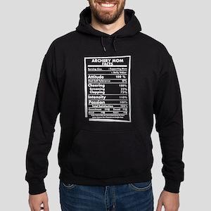 Archery Mom Facts Daily Values May Be V Sweatshirt