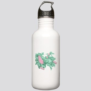 Rose of Sharon Stainless Water Bottle 1.0L