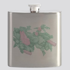 Rose of Sharon Flask