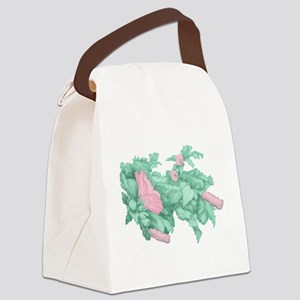 Rose of Sharon Canvas Lunch Bag