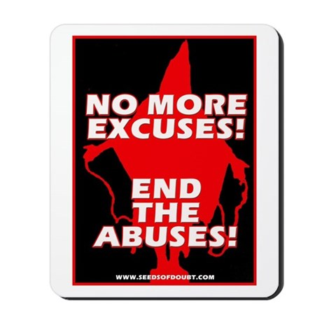 End The Abuses Mousepad