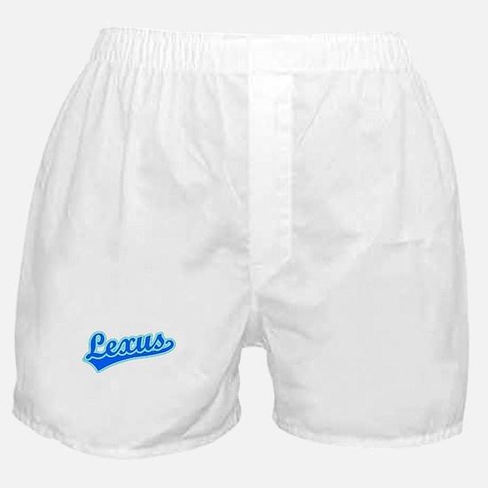 Retro Lexus (Blue) Boxer Shorts