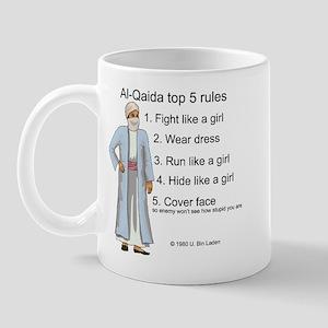 Al-Qaida rules of engagement Mug