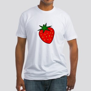 Cute Strawberry Fitted T-Shirt