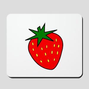 Cute Strawberry Mousepad