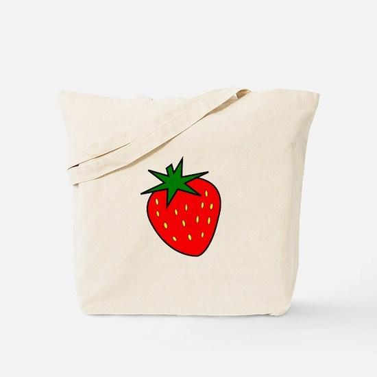 Cute Strawberry Tote Bag