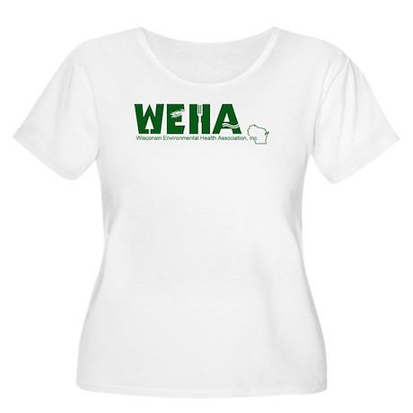 WEHA Logo Women's Plus Size Scoop Neck T-Shirt