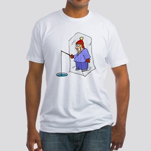 1684 Ice Fisherman Fitted T-Shirt