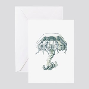 Jelly jump Greeting Card