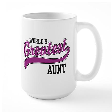 World's Greatest Aunt Large Mug