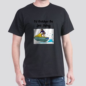 1590 I'd Rather be Jet Skiing Dark T-Shirt