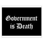 Gov't is Death Small Poster