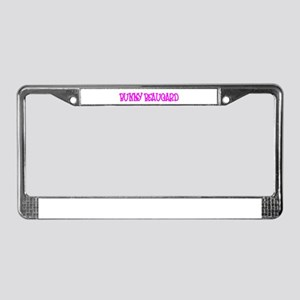 """""""Bunny Beaugard"""" License Plate Frame"""