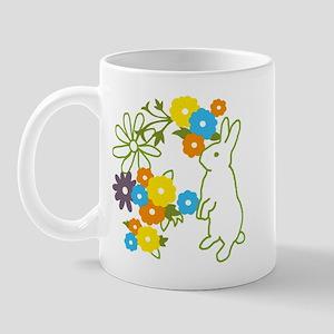 flower bunny Mug