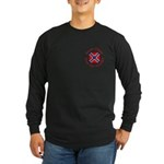 Screw Tibet Long Sleeve Dark T-Shirt