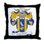 Palomo Family Crest Throw Pillow