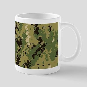U.S. Navy: Woodland Camouflage 11 oz Ceramic Mug