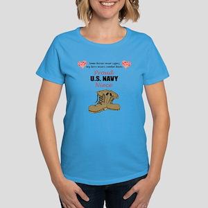 Proud US Navy Niece Women's Dark T-Shirt