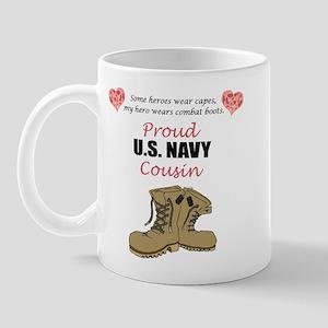 Proud US Navy Cousin Mug