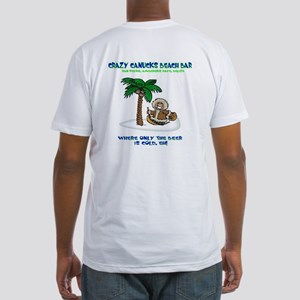 Crazy Canucks Fitted T-Shirt