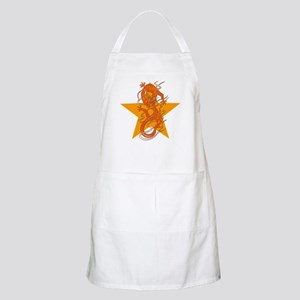 Orange Dragon for Tibet BBQ Apron