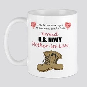 Proud US Navy Mother-in-Law Mug