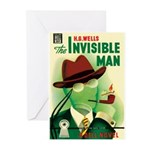 """Greeting (10)-""""The Invisible Man"""""""