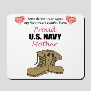 Proud US Navy Mother Mousepad