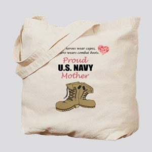 Proud US Navy Mother Tote Bag