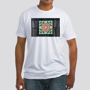 GOOSE IN THE POND Fitted T-Shirt