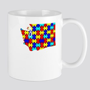 Washington - Autism Awareness Mugs