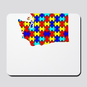 Washington - Autism Awareness Mousepad