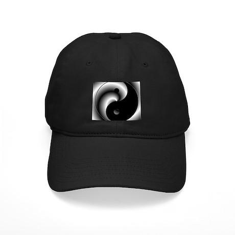 Yin and Yang Black Cap