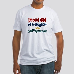 Proud Dad.....2 (Daughter DS) Fitted T-Shirt