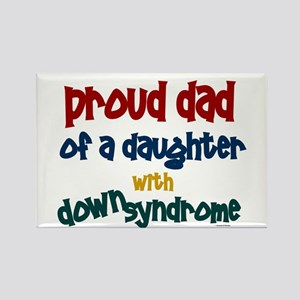Proud Dad.....2 (Daughter DS) Rectangle Magnet