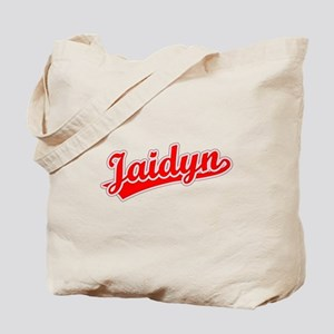 Retro Jaidyn (Red) Tote Bag
