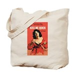"Tote Bag - ""Kiss Me Quick"""