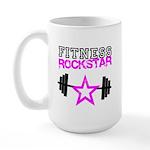 Fitness rockstar Large Mug