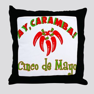 Ay Caramba Cinco de Mayo Throw Pillow