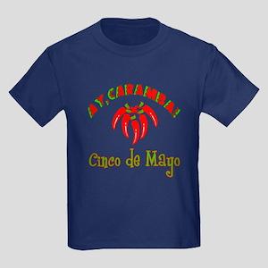 Ay Caramba Cinco de Mayo Kids Dark T-Shirt