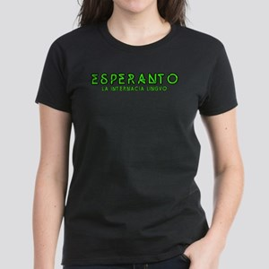Neon Esperanto Women's Dark T-Shirt