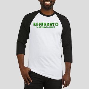 Neon Esperanto Baseball Jersey
