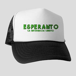 Neon Esperanto Trucker Hat