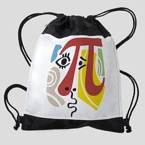 Pi Symbol Pi-Casso Drawstring Bag