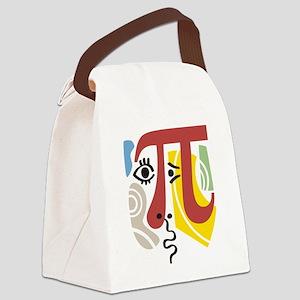Pi Symbol Pi-Casso Canvas Lunch Bag